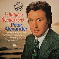 Cover Peter Alexander - Schlager-Rendezvous mit Peter Alexander [1976]